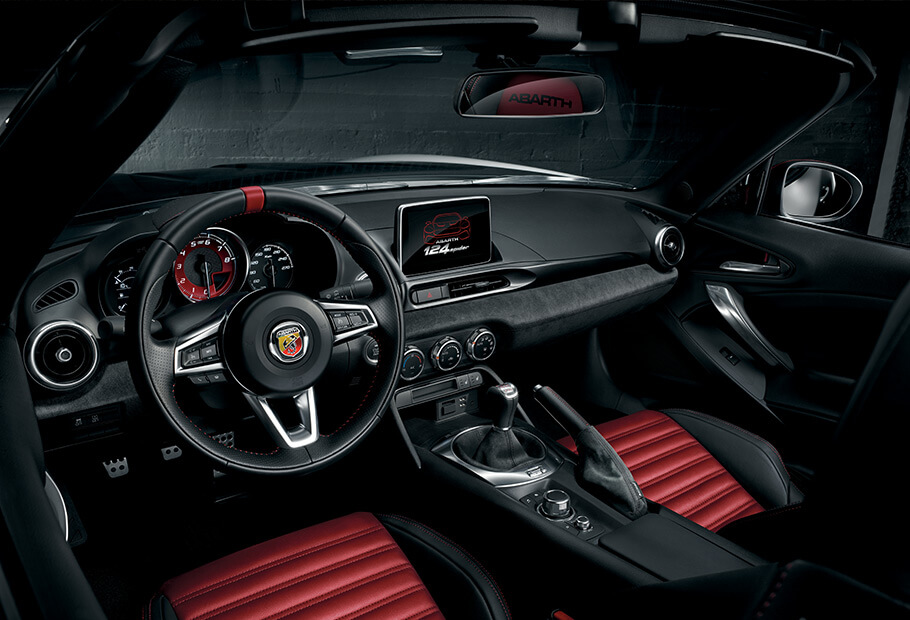 abarth 124 spider turismo personalizzala come vuoi abarth. Black Bedroom Furniture Sets. Home Design Ideas