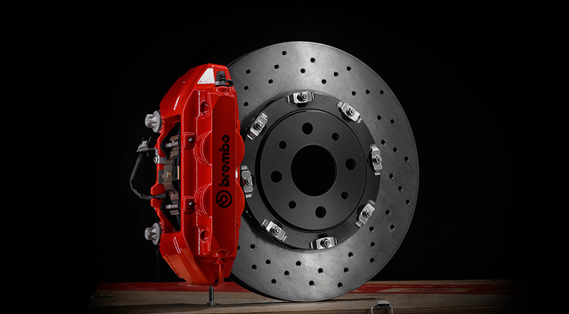 Kit sistema frenante Abarth Brembo