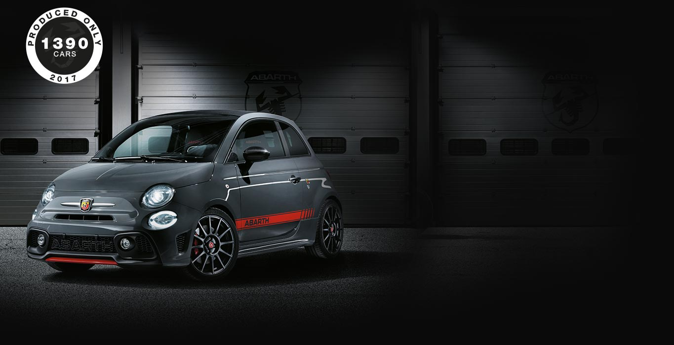 serie speciali ed edizioni limitate abarth lista auto. Black Bedroom Furniture Sets. Home Design Ideas